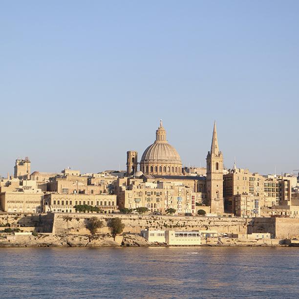 Malta - Valeta- Vista-de-Sliema