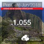 Promoção de Passagens para o <b>Peru: Cusco, Lima</b>! A partir de R$ 1.055, ida e volta, COM TAXAS!