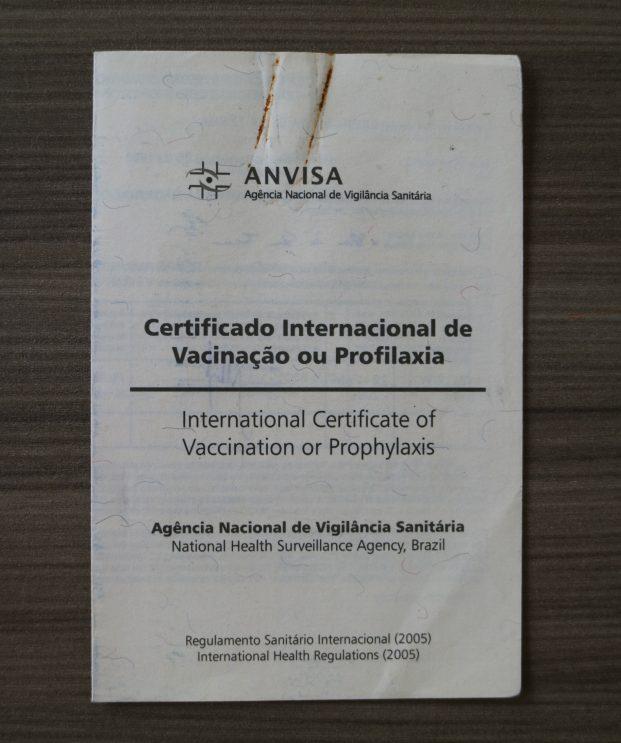 Certificado Internacional de Vacinação - CIVP