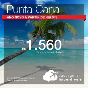 Promoção de Passagens para <b>Punta Cana</b>! A partir de R$ 1.560, ida e volta, COM TAXAS INCLUÍDAS! Até 6x SEM JUROS! Datas até Fevereiro/2019.