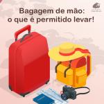 Bagagem de mão: o que é permitido levar em sua viagem!