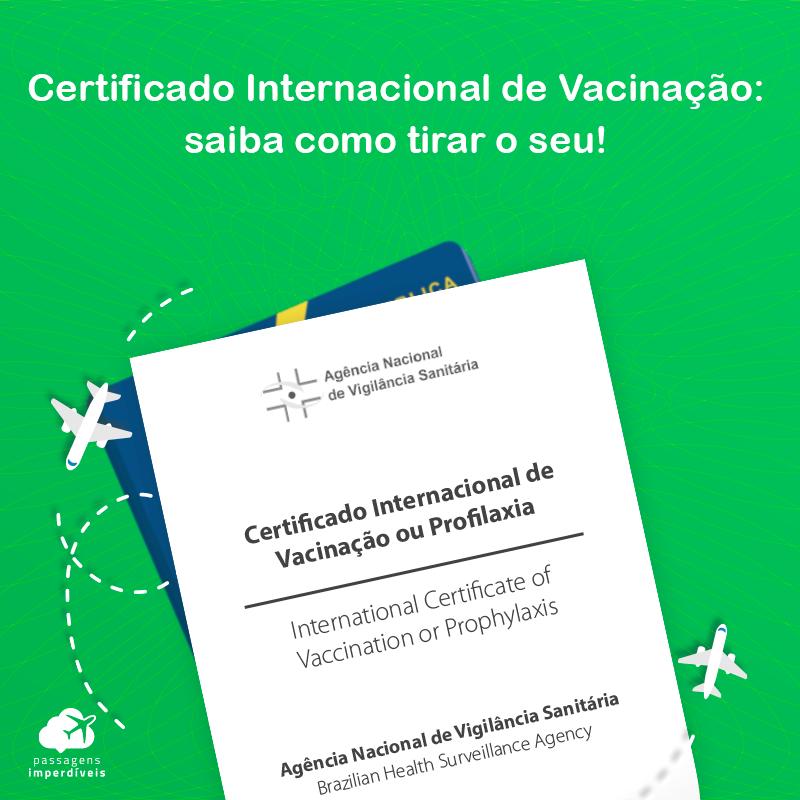 Certificado Internacional de Vacinação: saiba para que serve e como tirar o seu!