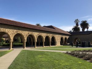 Esculturas de Rodin em Stanford no Vale do Silicio