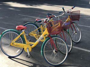 Bicicletas do Google no Vale do Silicio