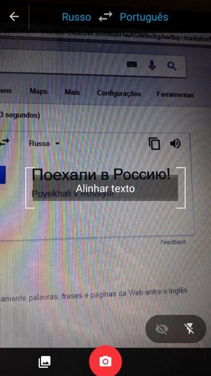 Foque o texto que você queira traduzir