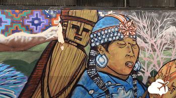 Arte de rua grafite Valparaiso Chile