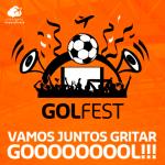 Promoção da GOL leva torcida para as nuvens em festa rumo ao hexa! De Fortaleza p/ SP, por R$ 6 + taxas, em voo especial de ida!