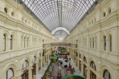 GUM: prédio histórico que hoje abriga um shopping