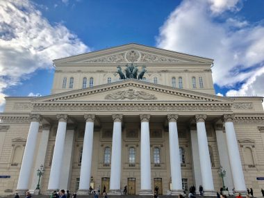 Prédio do Teatro de Bolshoi