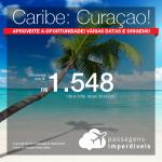 Seleção de Passagens para <b>Curaçao</b>! A partir de R$ 1.548, ida e volta, COM TAXAS INCLUÍDAS!