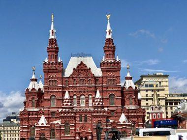 A icônica Praça Vermelha
