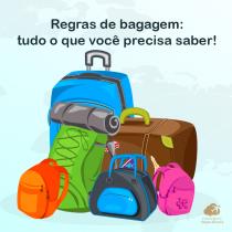 Regras de bagagem: tudo o que você precisa saber!