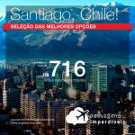 Promoção de Passagens para o <b>Chile: Santiago</b>! A partir de R$ 716, ida e volta, COM TAXAS INCLUÍDAS!