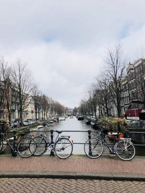 As bicicletas de Amsterdam