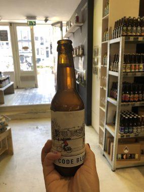 Code Blow, cerveja feita com água da chuva