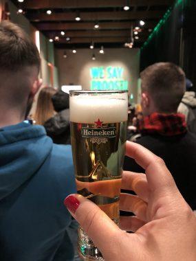 Degustação na Heineken Experience