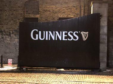 Fachada da Guinness