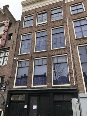 Fachada do prédio onde fica a casa deAnne Frank