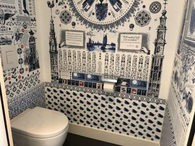 O banheiro do Hotel Andaz é lindo!