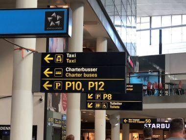 Aeroporto de Copenhagen na Dinamarca