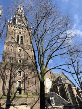 Fachada da Oude Kerk