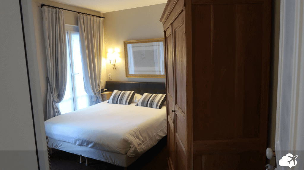 Quarto do hotel Best Western Aramis