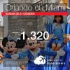 Promoção de Passagens para <b>Orlando, Miami ou Fort Lauderdale</b>! A partir de R$ 1.320, ida e volta, COM TAXAS!