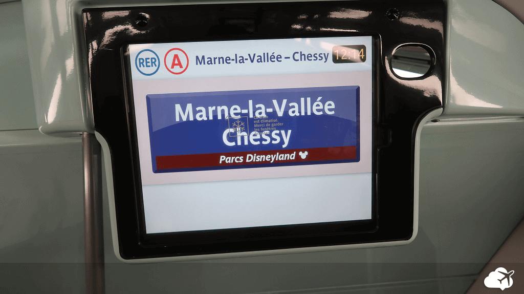 Sinalização no metrô de Paris é clara