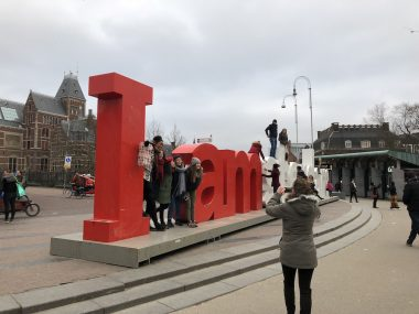 Placa do I AMsterdam
