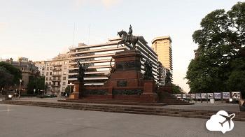 Praça san martin pontos turísticos de Buenos Aires