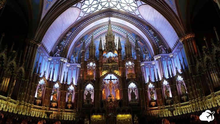 basilica notre dame canadá
