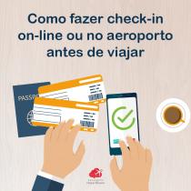 Como fazer check-in on-line ou no aeroporto antes de viajar