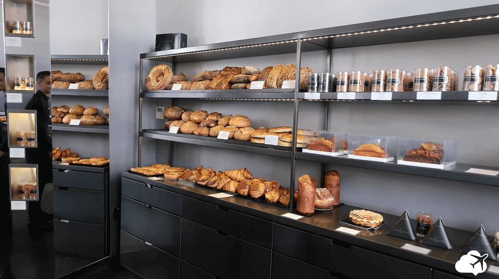 """Ala de pães """"especiais"""" na Des Gâteaux et du Pain"""