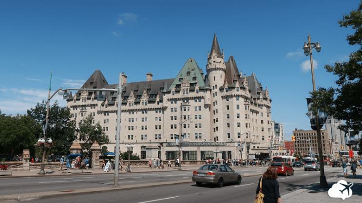 hotel fairmount chateau larier ottawa canada