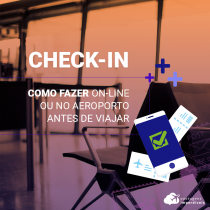 Como fazer check-in on-line ou no aeroporto antes de viajar