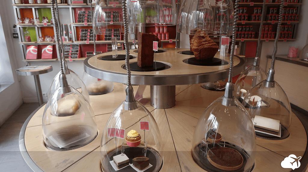Doces tratados como joias na LaPâtisserie des Rêves