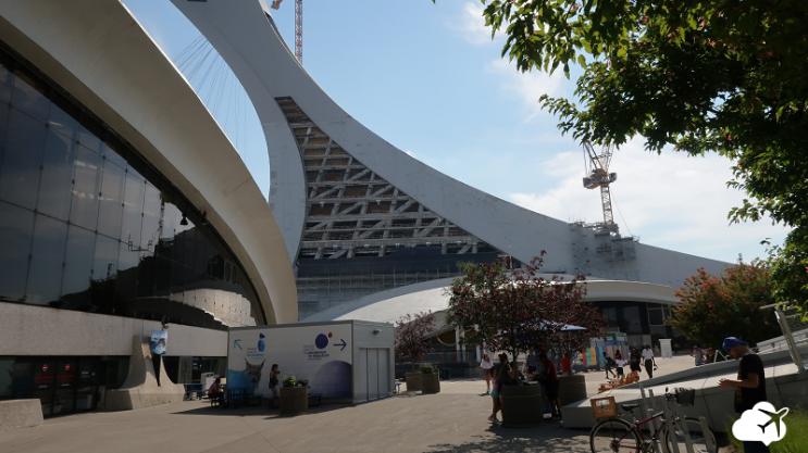 parque olimpico montreal canada