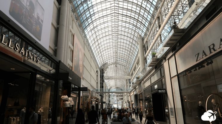 eaton centre path toronto