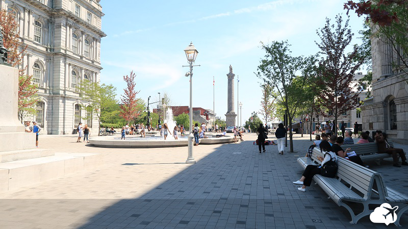 place jacques carties montreal canadá