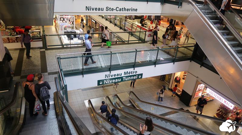cidade subterranea montreal canadá