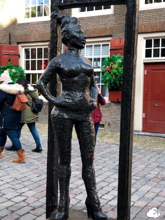 estatua profissional do sexo amsterdam