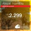 Promoção de Passagens para a <b>ÁFRICA: Namíbia</b>! A partir de R$ 2.299, ida e volta, COM TAXAS INCLUÍDAS! Datas até 2019! Saídas de SP ou RJ!