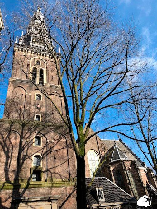 fachada oude kerk amsterdam