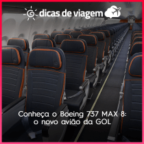 Conheça o Boeing 737 MAX 8: o novo avião da GOL