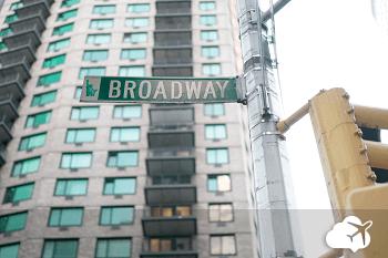 Teatros na Broadway em Nova York