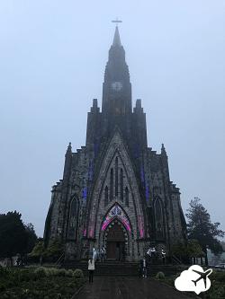Catedral de Pedra, em Canela