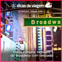 Como comprar ingressos da Broadway com desconto