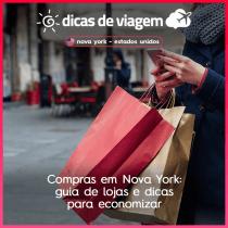 Compras em Nova York: guia de lojas e dicas para economizar