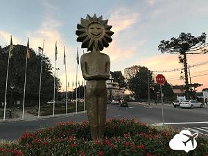 Estátua do Kikito em Gramado