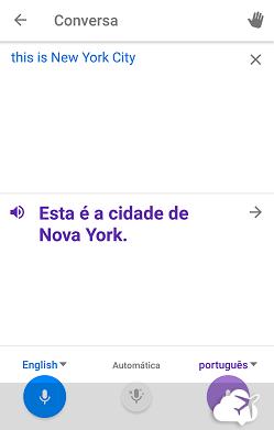 Google Tradutor conversa